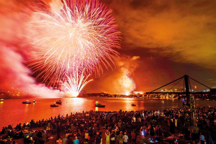 New Year's Eve Gala on Cockatoo Island